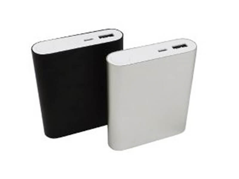 Carregador Portátil de metal (Power Bank) c/ 4 baterias internas KIMASTER